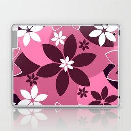 Floral fantasy in pink Laptop & iPad Skin