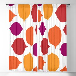 Shapes and Threads Blackout Curtain