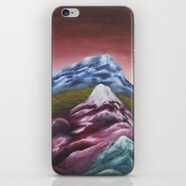 Pine Tree & Mountains iPhone Skin