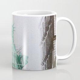Statue of Liberty construction Coffee Mug