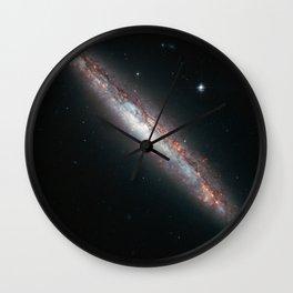 Spiral Galaxy NGC 5775 Wall Clock