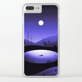 It's Here Clear iPhone Case