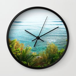 Dreamy Tropical Reef  Wall Clock