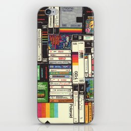 Cassettes, VHS & Games iPhone Skin