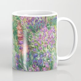 The Iris Garden at Giverny by Claude Monet Coffee Mug