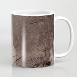 Eerie Train Tracks (Color) Coffee Mug