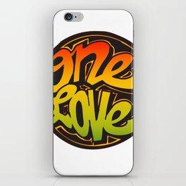 One Love iPhone Skin