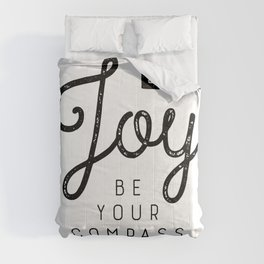 Let Joy Be Your Compass Comforters