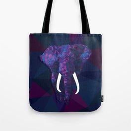 Geometric Cool Elephant Tote Bag