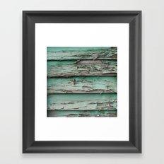 erode Framed Art Print
