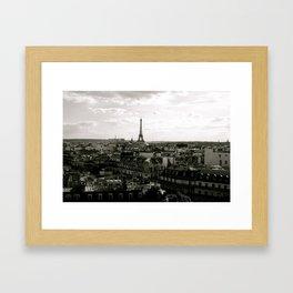 Paris Skyline  Framed Art Print