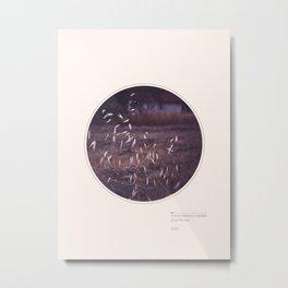 Darkness & Stars Metal Print