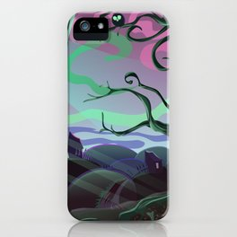 Spooky place iPhone Case