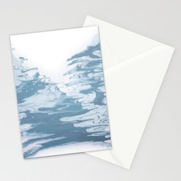 Marble Drips Stationery Cards