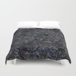 Fit In (moonlit blue) Duvet Cover