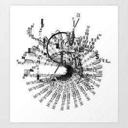 soundless Art Print