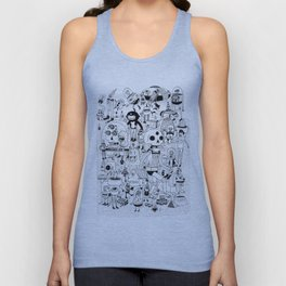 US AND THEM  Unisex Tank Top