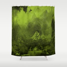 Young People Shower Curtain