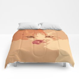 Tongue Rolling Comforters