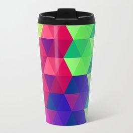 Hexagons 2 Travel Mug