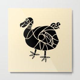 Dodo Bird Metal Print