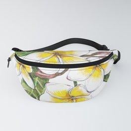 Frangipani Flower Fanny Pack