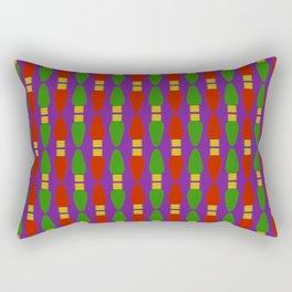 Bulb Wave Royal Rectangular Pillow
