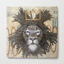 Hommage a Basquiat Metal Print