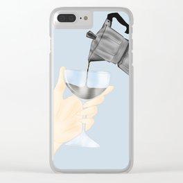 Espresso Martini Clear iPhone Case