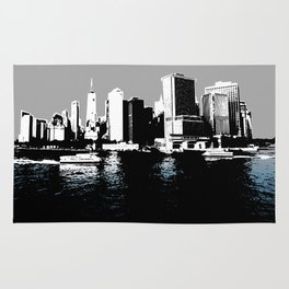 New York City From the Water Rug