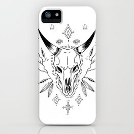 Cow skill magic iPhone Case
