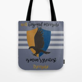 Ravenclaw Wit Beyond Measure Tote Bag