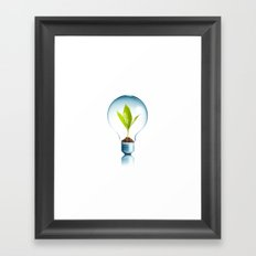 Save the Bio Framed Art Print