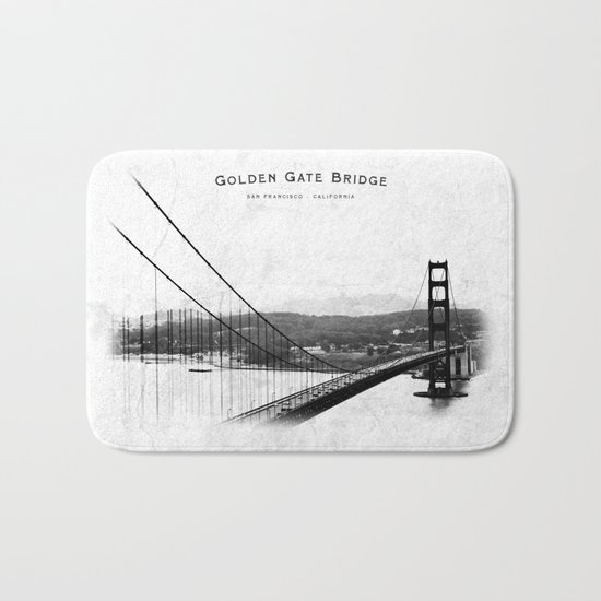 Golden Gate Bridge - San Francisco Bath Mat