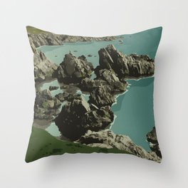 Dungeon Provincial Park Throw Pillow