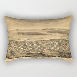 San DIego 1876 Rectangular Pillow