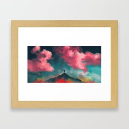 Anxieties Away Framed Art Print