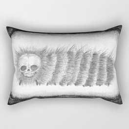 Adalbert's Portrait in B&W Rectangular Pillow