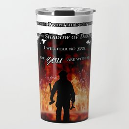 Firefighter Tribute Travel Mug