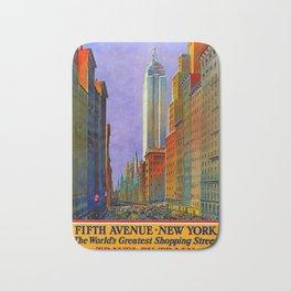 klassisch Fifth Avenue New York Bath Mat
