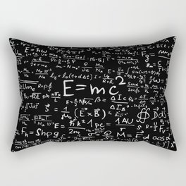 Math Formulas Rectangular Pillow