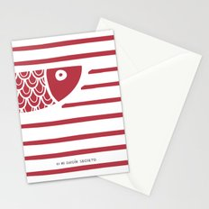 PIXE 1 (dark red) Stationery Cards
