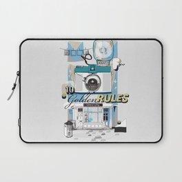Ten Golden Rules Laptop Sleeve