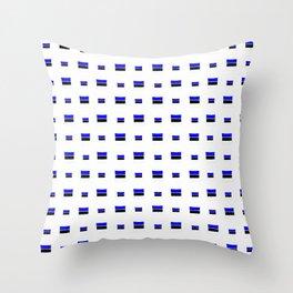 Flag of estonia 4- Throw Pillow