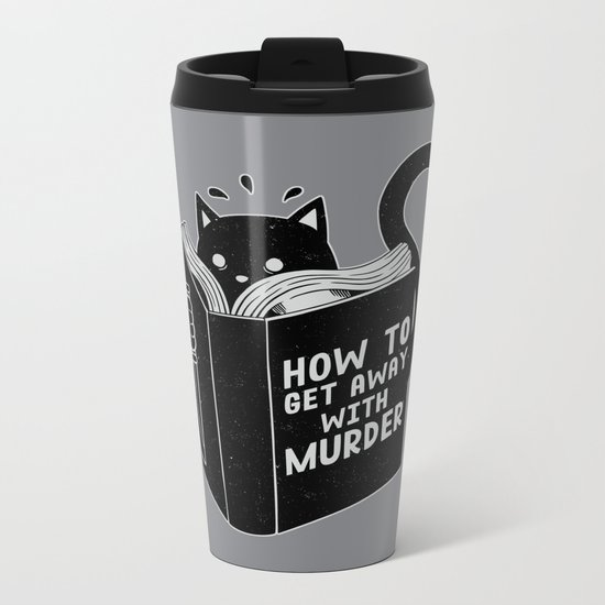 How to get away with murder Metal Travel Mug