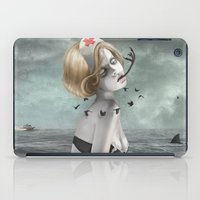 nurse iPad Cases featuring The Nurse by Dolce Babanne