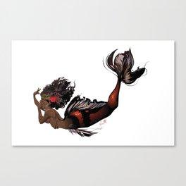 KoiMaid Queen Canvas Print