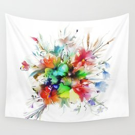 Bouquet of wild flowers Wall Tapestry