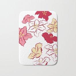 Poinsettia - 4 colors Bath Mat