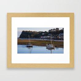 Shaldon at Low Tide Framed Art Print